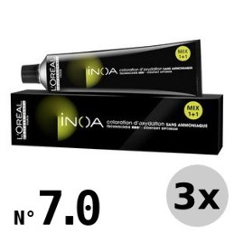 Inoa 7.0 blond moyen intense - 3x60ml