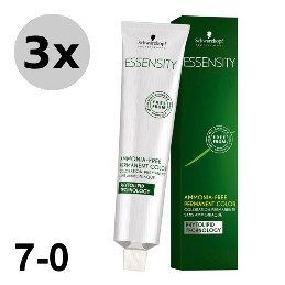 Essensity 7-0 Blond moyen - 3x60ml