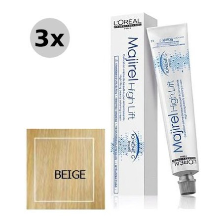 Majirel High Lift  Beige - 3x50ml