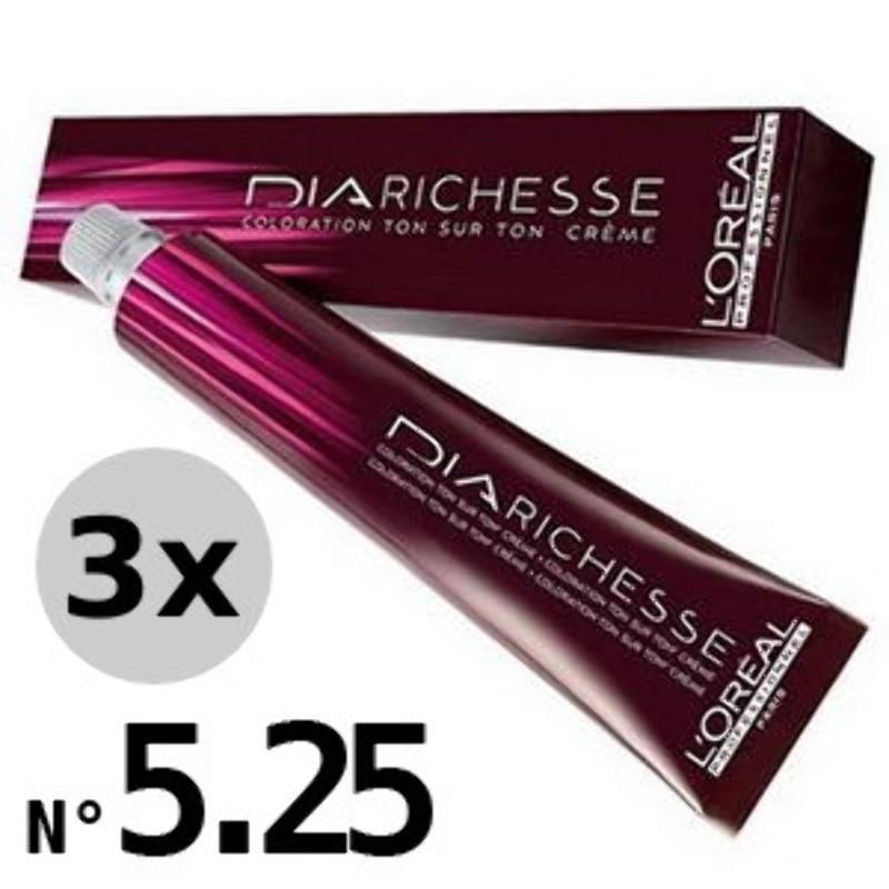 DiaRichesse 5.25 Marron glacé - 3x50ml