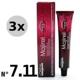Majirel 7.11 Blond cendré profond - 3x50ml