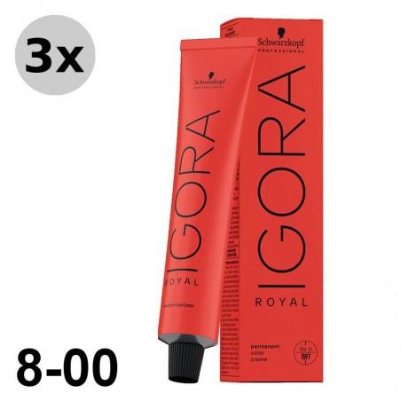 Igora Royal 4-13 Châtain moyen cendré mat - 3x60ml