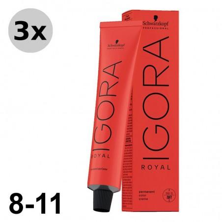 Igora Royal 5-68 Châtain clair marron rouge 3x60ml