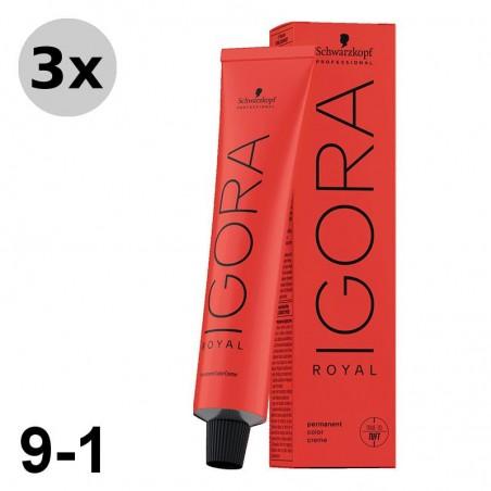 Igora Royal 8-0 Blond Clair 3x60ml