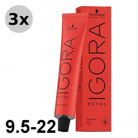 Igora Royal 6-4 Blond foncé beige - 3x60ml