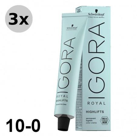 Igora Royal 9-55 Blond très clair doré extra - 3x60ml