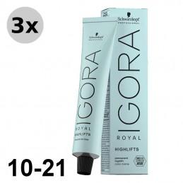 Igora Royal 6-63 Blond foncé marron mat - 3x60ml