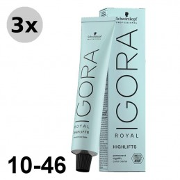 Igora Royal 4-68 Châtain moyen marron rouge - 3x60ml
