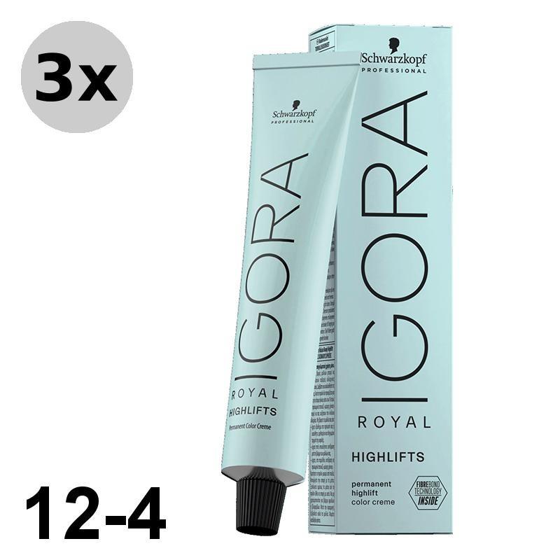 Igora Royal Absolutes 5-50 Châtain clair doré naturel - 3x60ml